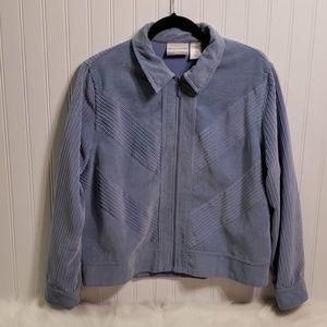 5 for $25 Alfred Dunner Light Blue Corduroy Jacket